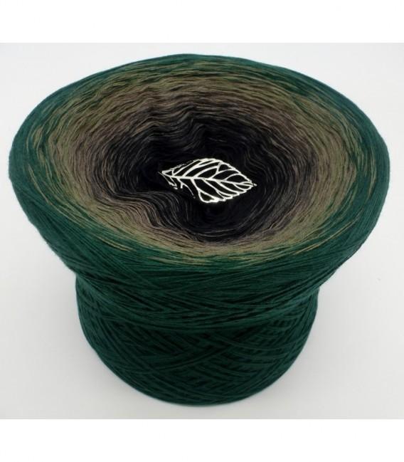 gradient yarn 4ply Tannenzauber - Black outside