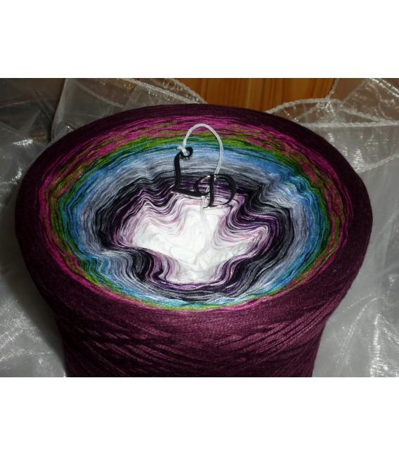 mega gradient yarn 4ply Farbenmeer - 500g 4