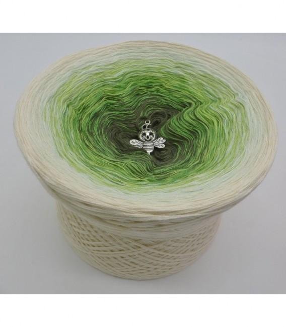 Gräser im Wind - Farbverlaufsgarn 4-fädig - Bild 6