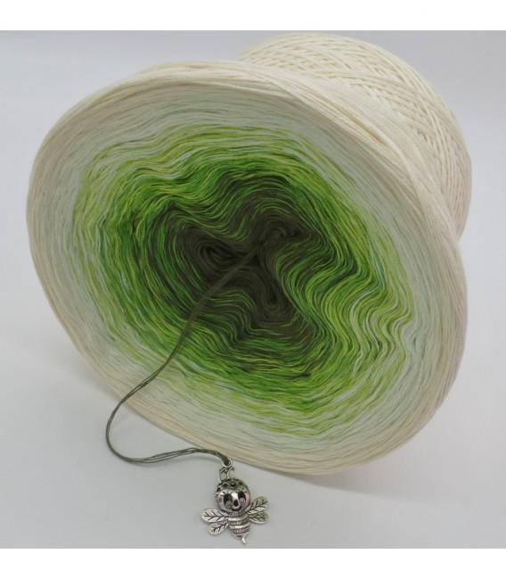 Gräser im Wind - Farbverlaufsgarn 4-fädig - Bild 9