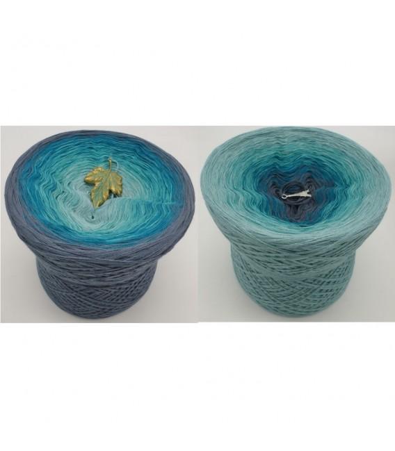 Larimar - 4 ply gradient yarn - image 1