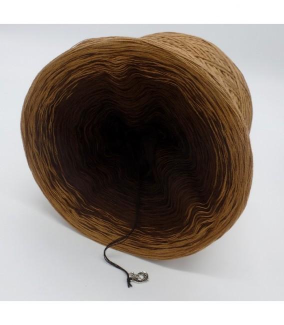 Schokokuss (шоколад поцелуй) - 4 нитевидные градиента пряжи - Фото 9