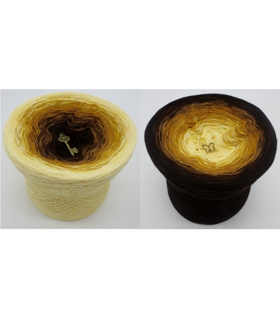 Honey Moon (медом Луны) - 4 нитевидные градиента пряжи - Фото 1