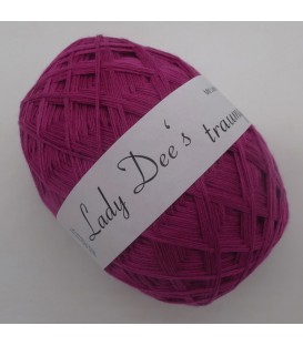 Lace yarn - 002 Raspberry - Photo