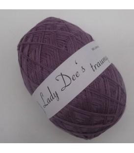 Леди Ди Кружево пряжи - 006 фиолетовый - 1 цвет - 100г/3.53унции - Фото