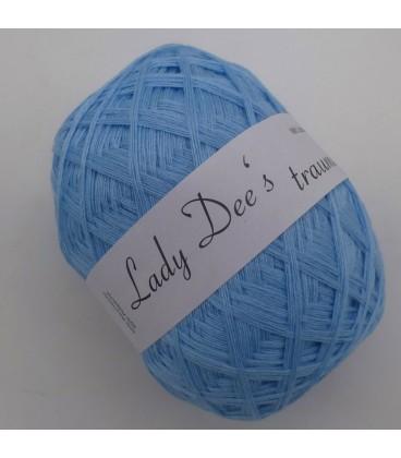 Lace Yarn - 027 Aqua - Photo
