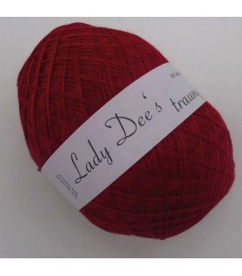 Lace Yarn - 041 Burgundy - Photo