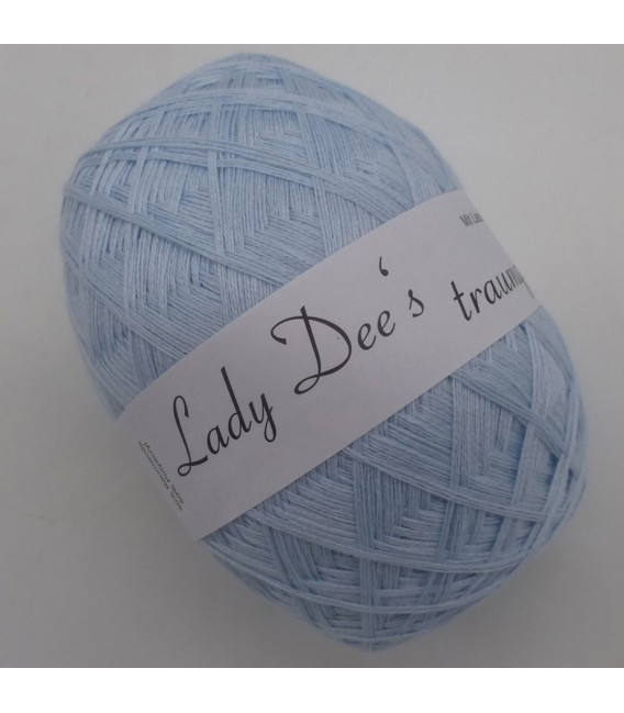 Lace Yarn - 049 Light blue - Photo