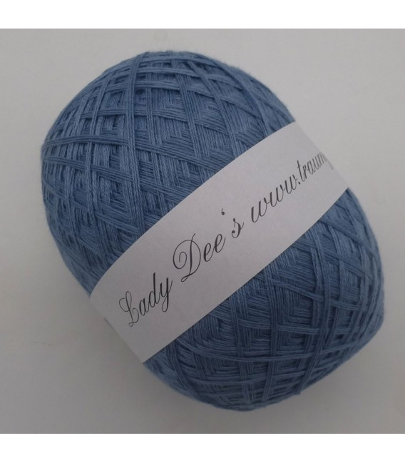 Lace Yarn - 051 pigeon blue - image