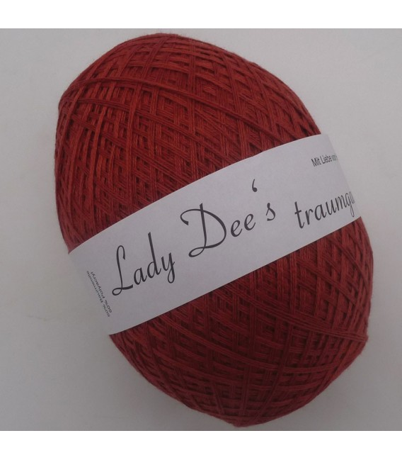 Lace Yarn - 066 Brick stone - image
