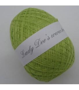 Леди Ди Кружево пряжи - 069 лист зеленый