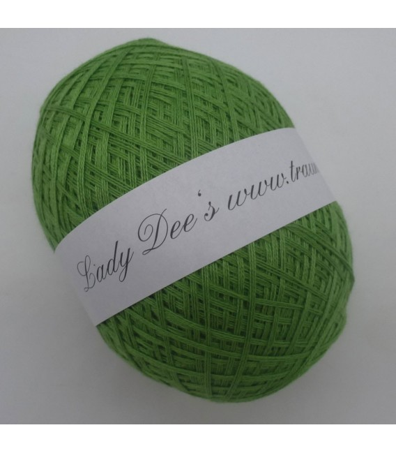 Леди Ди Кружево пряжи - 083 лягушка зеленый - Фото