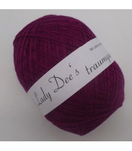 Lace Yarn - 090 blackberry - image