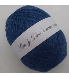 Lady Dee's Lace yarn - Indigo mottled - image