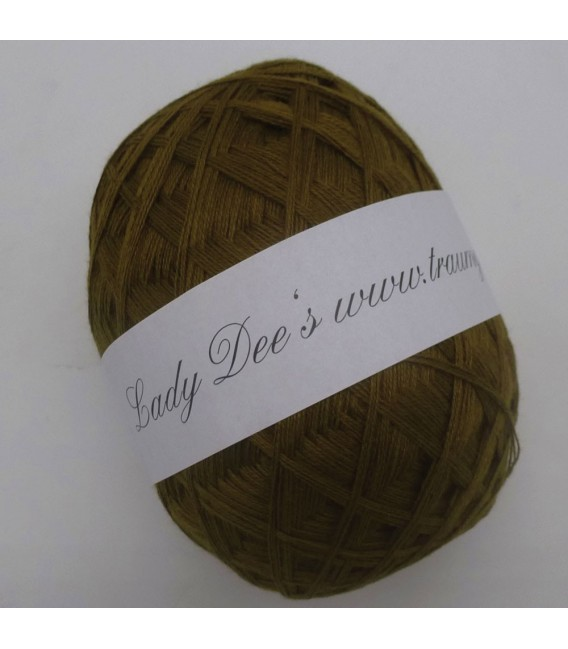 Lady Dee's Lace Yarn - olive green - image