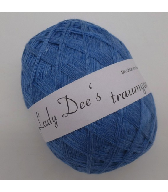 Lady Dee's Lace yarn - Jeans blue mottled - image