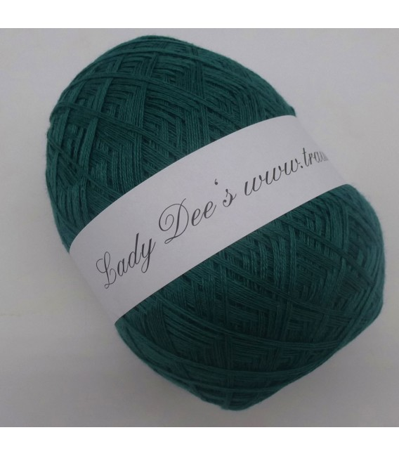 Lady Dee's Lace Garn - Smaragd - Bild