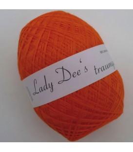 Леди Ди Кружево пряжи - оранжевый - Фото