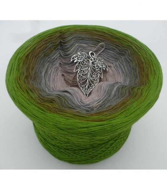Barfuß im Moos (Barefoot in moss) - 4 ply gradient yarn - image 6