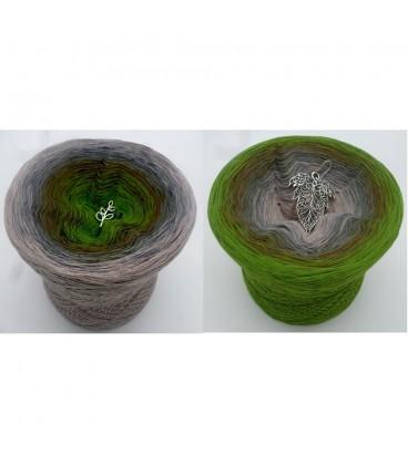 Barfuß im Moos (Pieds nus dans la mousse) - 4 fils de gradient filamenteux - photo 1