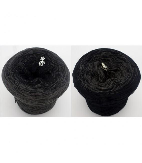 Black Beauty - 5 нитевидные градиента пряжи - Фото 1