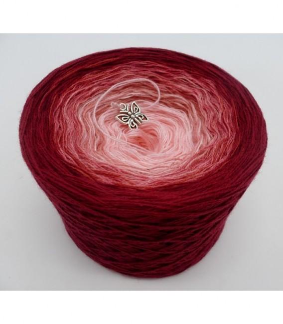 Röschen Rot (Красные цветочки) - 2 нитевидные градиента пряжи - Фото 6