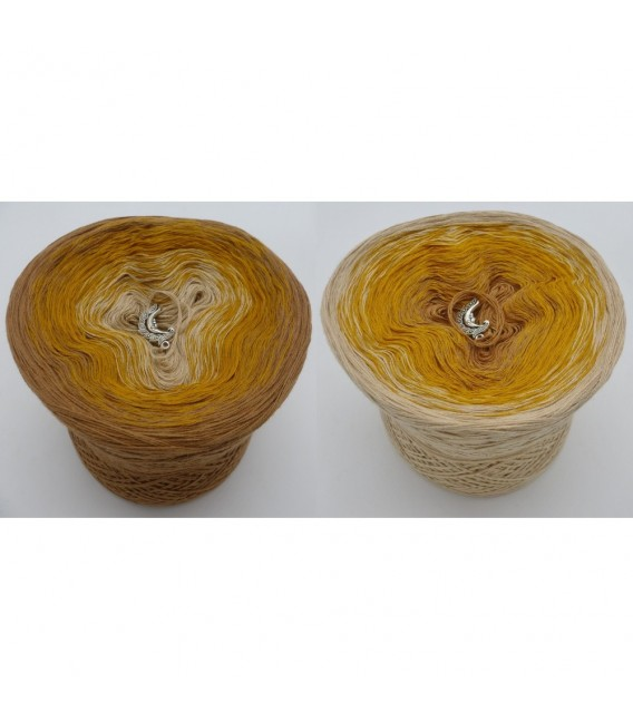 Honigmond - Farbverlaufsgarn 3-fädig - Bild 1
