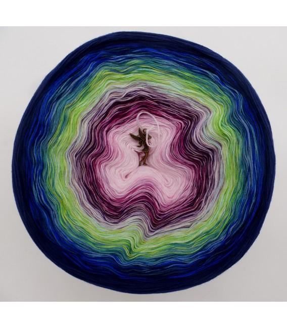 Blütentraum Megabobbel - Farbverlaufsgarn 4-fädig - Bild 2