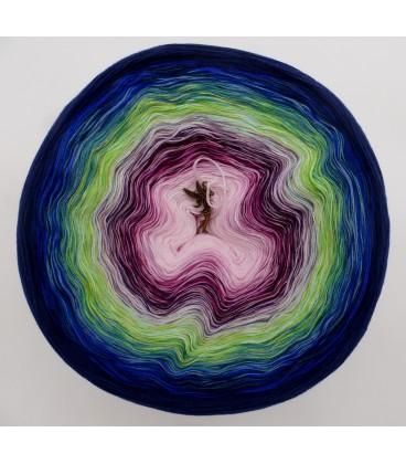Blütentraum (Rêver les fleurs) Mega Bobbel - 500g - 4 fils de gradient filamenteux - photo 2