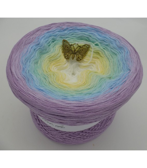 Butterfly (бабочка) Мега Bobbel - 4 нитевидные градиента пряжи - Фото 1