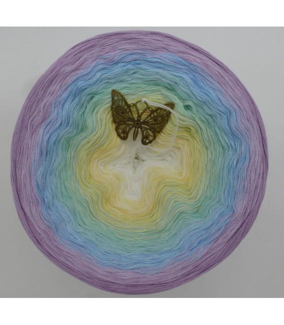 Butterfly (Papillon) Mega Bobbel - 4 fils de gradient filamenteux - photo 2