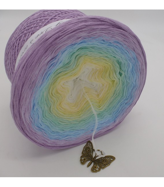 Butterfly (бабочка) Мега Bobbel - 4 нитевидные градиента пряжи - Фото 3