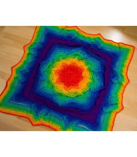 Kinder des Regenbogen Megabobbel - Farbverlaufsgarn 4-fädig - Bild 6