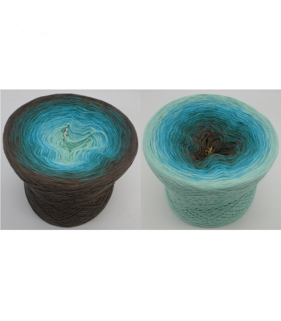 Meeresspiegel (Sea level) - 4 ply gradient yarn - image 1