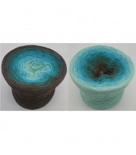 Meeresspiegel - 4 ply gradient yarn