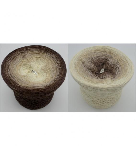 Vanille Schokoccino (Vanille Chocolat Chino) - 4 fils de gradient filamenteux - photo 1