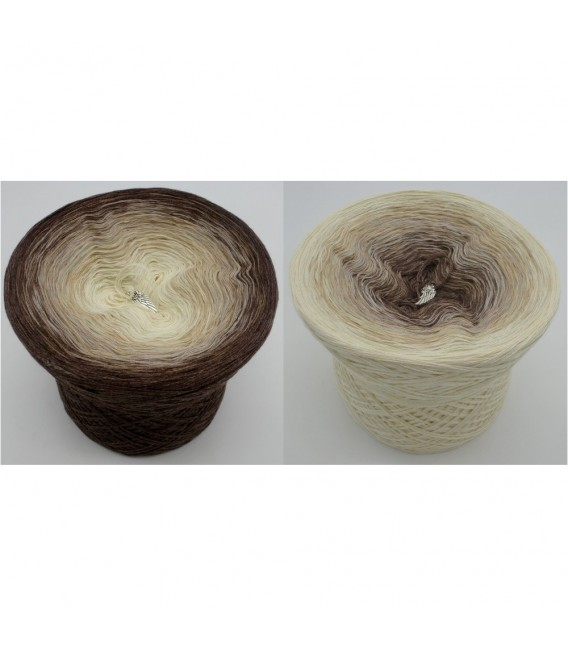 Vanille Schokoccino (Vanilla Schokoccino) - 4 ply gradient yarn - image 1