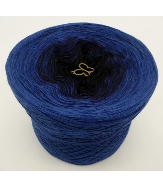 Blue Darkness - 3 ply gradient yarn image 6