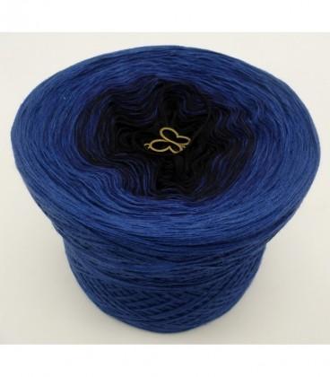Blue Darkness (синий мрак) - 3 нитевидные градиента пряжи - Фото 6