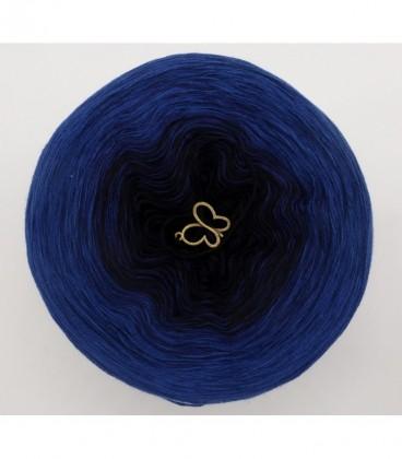 Blue Darkness (синий мрак) - 3 нитевидные градиента пряжи - Фото 7