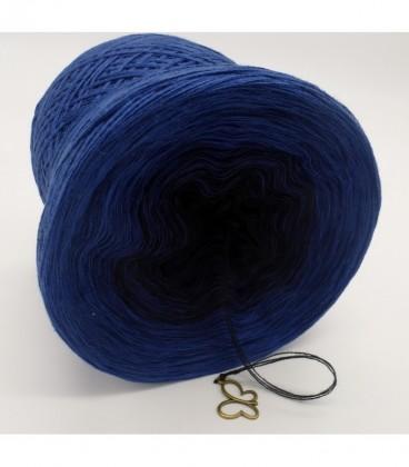 Blue Darkness (синий мрак) - 3 нитевидные градиента пряжи - Фото 8
