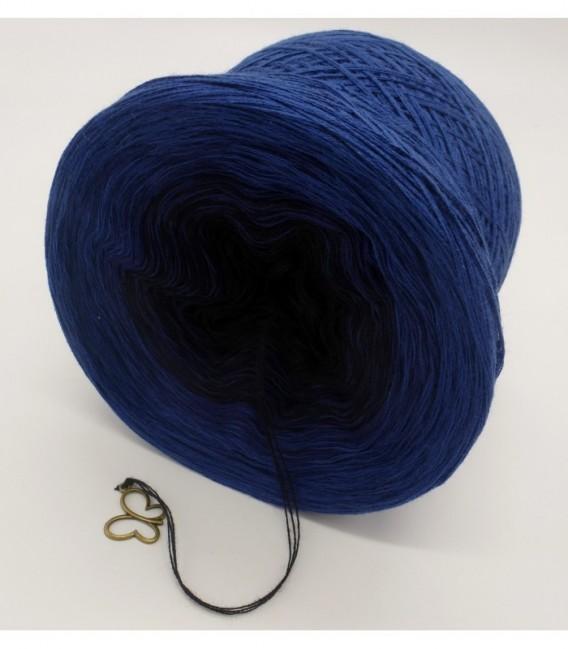 Blue Darkness - 3 ply gradient yarn image 9