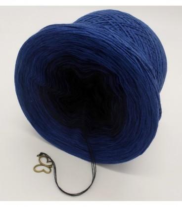 Blue Darkness (синий мрак) - 3 нитевидные градиента пряжи - Фото 9