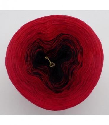 Höllenfeuer - 3 ply gradient yarn image 7