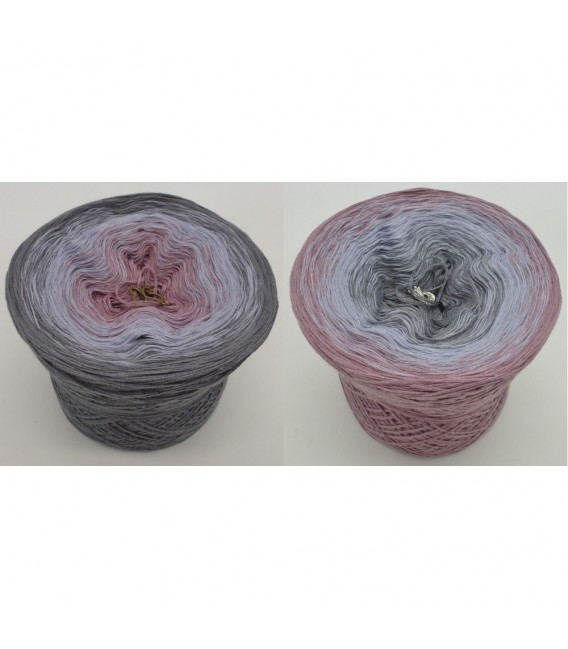 Indian Rose - 3 ply gradient yarn image 1