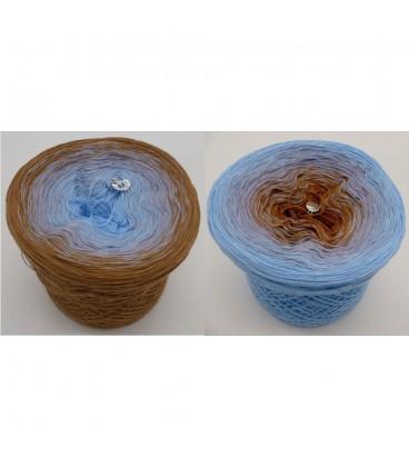 Himmel und Erde (Ciel et Terre) - 3 fils de gradient filamenteux - photo 1