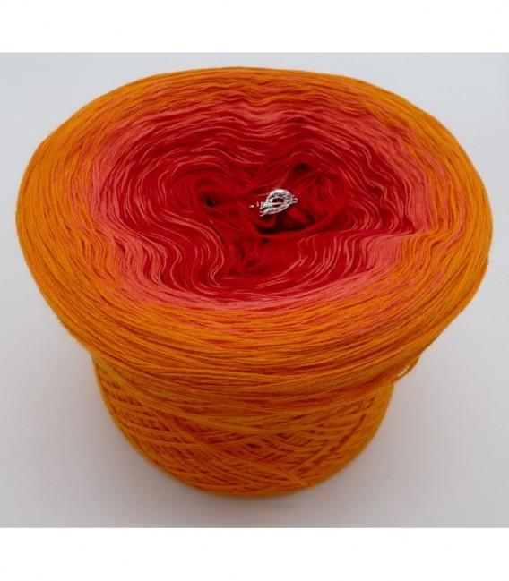 Blutorange (красного апельсина) - 3 нитевидные градиента пряжи - Фото 6