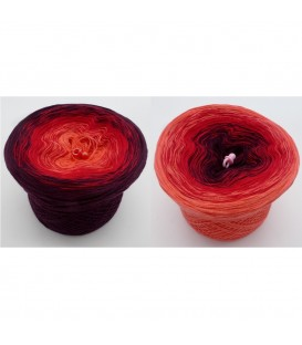 Bloody Mary - 3 ply gradient yarn image 1