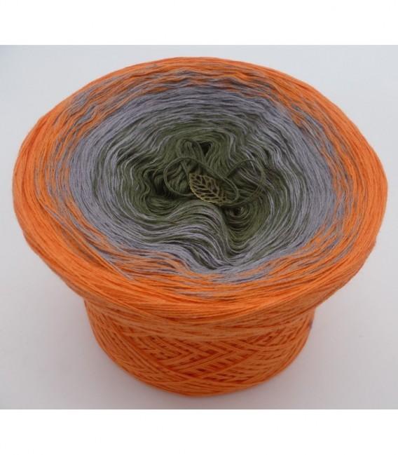 Orange Dream (Оранжевый сон) - 3 нитевидные градиента пряжи - Фото 6
