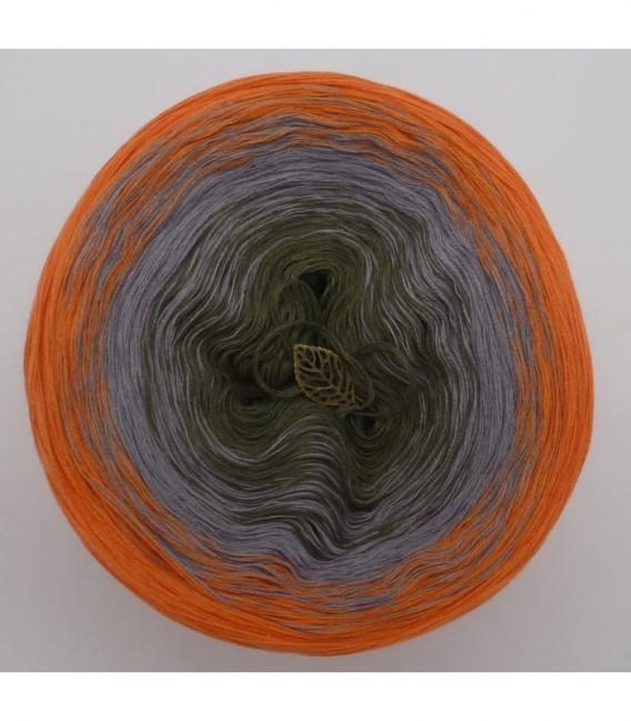 Orange Dream (Оранжевый сон) - 3 нитевидные градиента пряжи - Фото 7